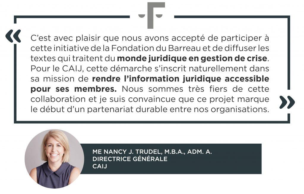 Citation_Nancy J. Trudel_ Fondation Barreau